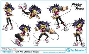 PunkArts Character Design 02 by JoeCostantini