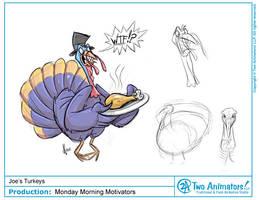 Thanksgiving Turkey by JoeCostantini