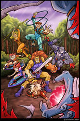 The Thundercats by JoeCostantini
