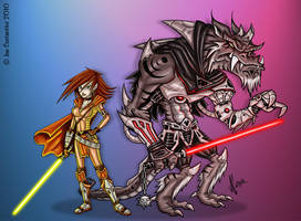 Beauty vs The Beast by JoeCostantini