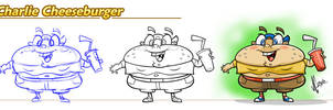 Charlie Cheeseburger by JoeCostantini