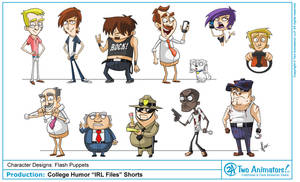 College Humor Characters by JoeCostantini