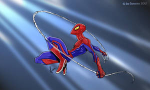 Spidey Pose 06-15-12 by JoeCostantini