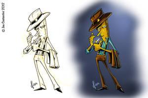 SpongeBob DetectivePants by JoeCostantini
