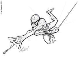 Spidey 01-15-13 by JoeCostantini