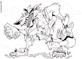 Werewolf Inks by JoeCostantini