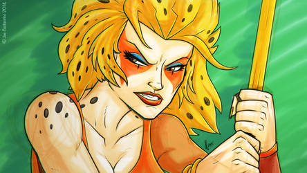 Cheetara Sketch by JoeCostantini