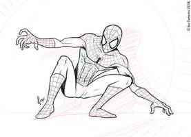 Spidey Pose 02-06-14 by JoeCostantini