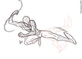Spidey Pose 12-02-14 by JoeCostantini