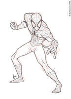 Spidey Pose 12-03-14 by JoeCostantini