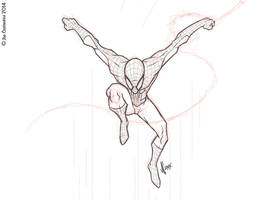 Spidey Pose 12-08-14 by JoeCostantini