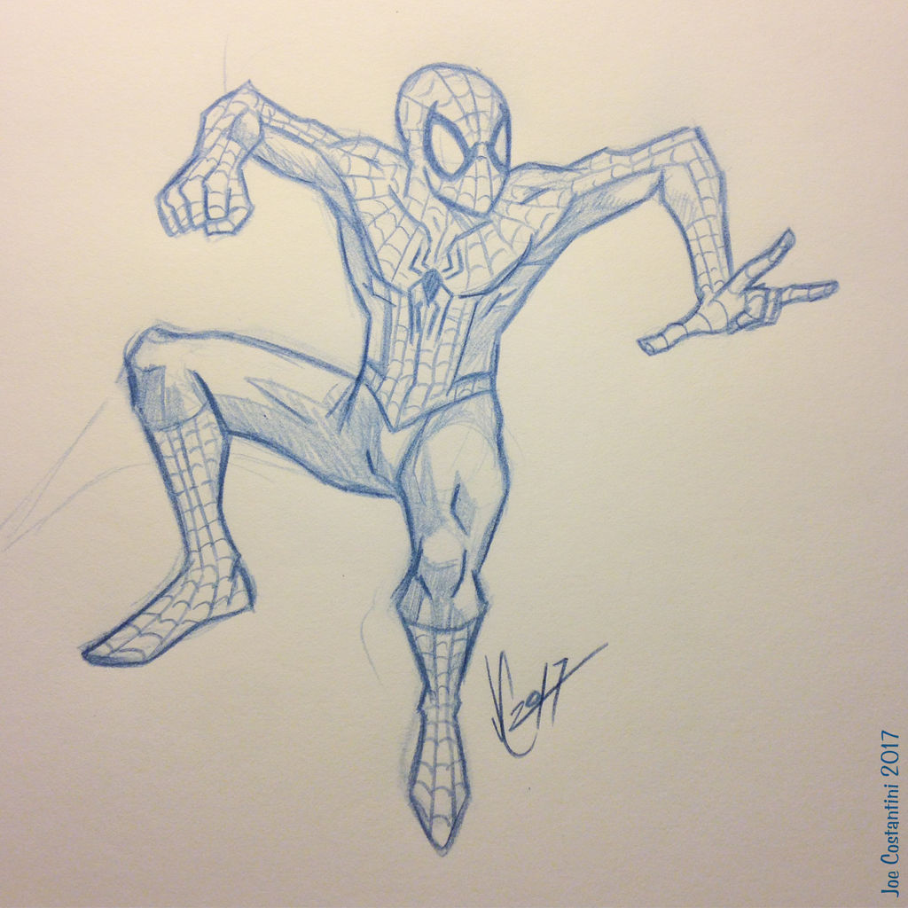Spidey Sketch #131 by JoeCostantini