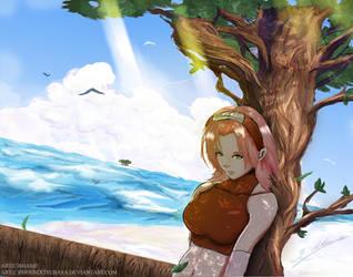 Sakura Haruno another world by Phoenixtsubasa