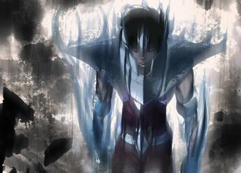 Seiya Ultra Instinct_V.1 by Phoenixtsubasa