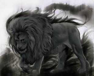 Astaldo the Blue Lion by Phoenixtsubasa