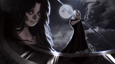 Lady Death's son by Phoenixtsubasa