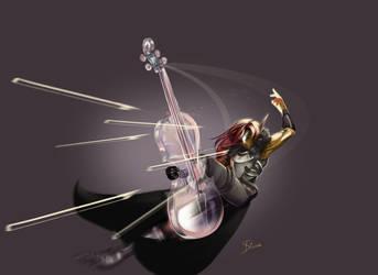Caelan et le violoncelle de verre by Phoenixtsubasa