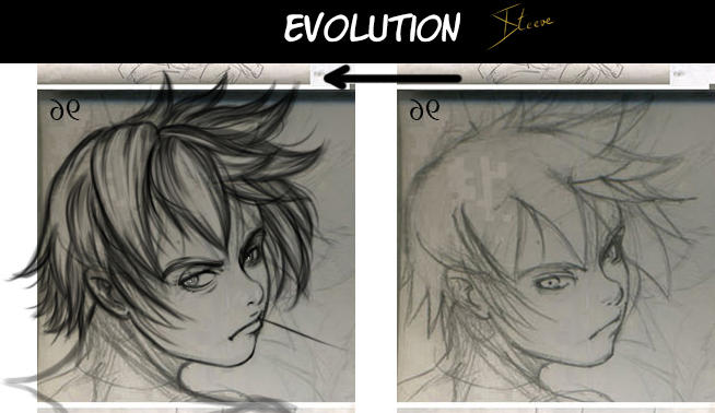 Evolution_Roxas_Ventus (2017-2018) by Phoenixtsubasa