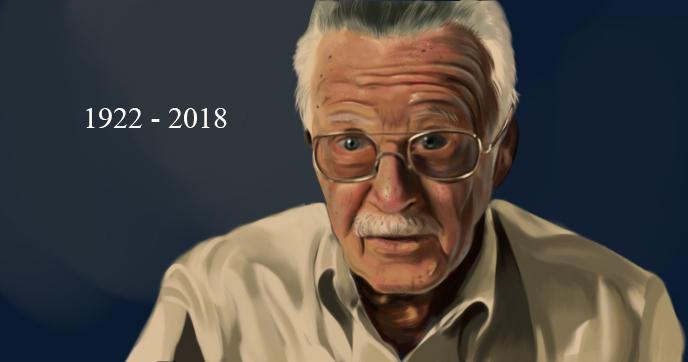 Stan Lee (1922 - 2018) by Phoenixtsubasa