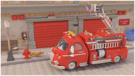 Fire Station by fabriciocampos