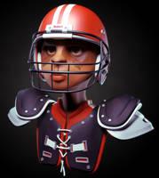 Football Player by fabriciocampos