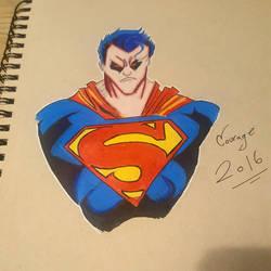 Superman by CartoonWatch