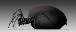 Ungoliant (Side View) by KarlLevy