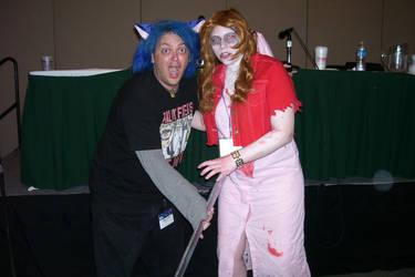 Zombie Aeris and Greg Ayres by WielderofDreams