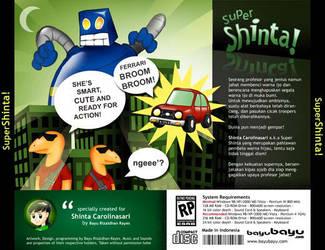 Super Shinta Back CD Cover by bayubayu