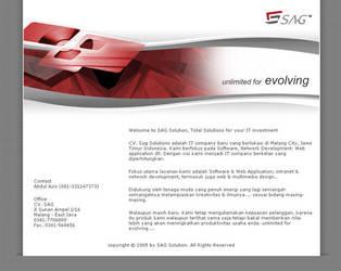 SAG Solution Website by bayubayu