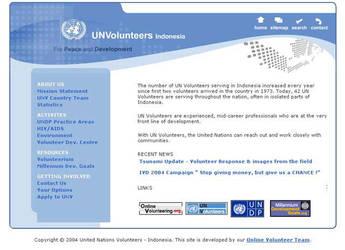 UN Volunteers Indonesia by bayubayu