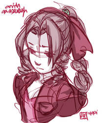 Aerith Gainsborough by jingster