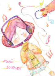 Music Soothes by jingster