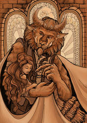 Beauty and the Beast by FataFortuna