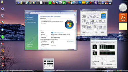Desktop Screenshot: Core i7 4790k w/ Vista SP2 by a11ryanc