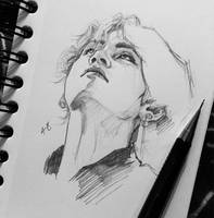 Taehyung sketch by for-infinity