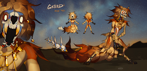 Greed - auction |CLOSED| by Nemfaret