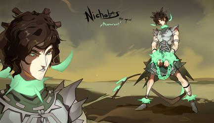Nicholas The Maid - auction |CLOSED| by Nemfaret