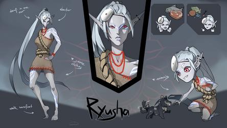 Ryusha -auction |CLOSED| by Nemfaret