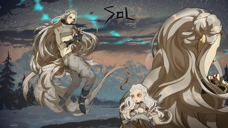 Sol - auction |CLOSED| by Nemfaret