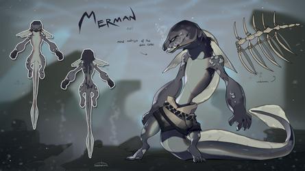 Merman - auction |CLOSED| by Nemfaret