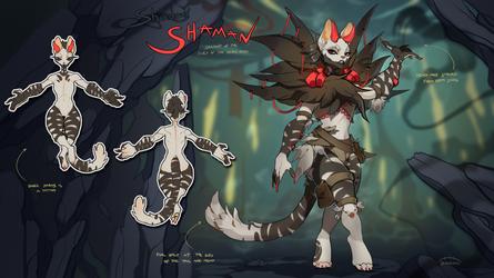 Shadow Shaman - auction |CLOSED| by Nemfaret