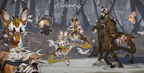 Thunderbird - auction |CLOSED| by Nemfaret