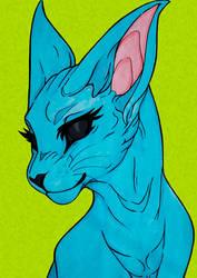Alien Sphynx by Maharany