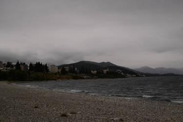 Bariloche y lago Nahuel Huapi by cynodelic