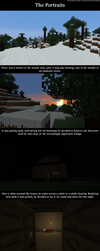 'The Portraits' in Minecraft by Unfred-Art