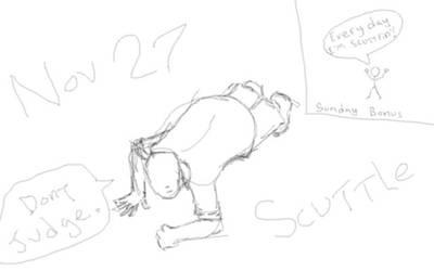 sketch a day november 27: scuttle by ender-wiggin42
