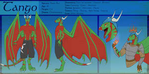 Tango Zulu: Ref sheet of awesome! by TahuTango