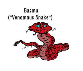 Basmu (Venomous Snake) by aGentlemanScientist