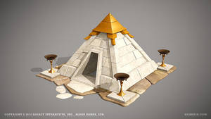 Temple of fire by ogami3d